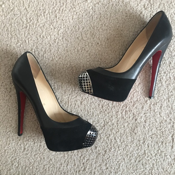 9bab79a72007 Christian Louboutin Shoes - Christian Louboutin Steel toe Maggie 140 pump